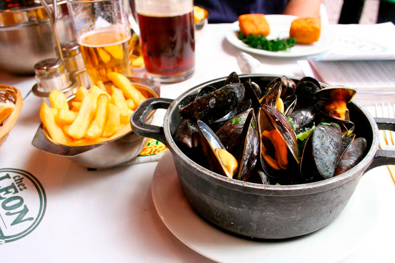 Где поесть в Брюсселе: ресторан La Mer du Nord
