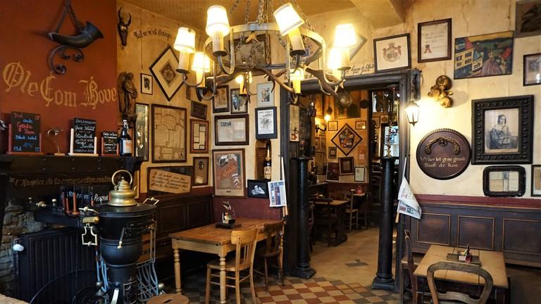 Где поесть в Брюсселе: ресторан La Fleur en Papier Dore