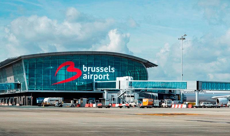 Новый терминал аэропорта Завентем (Брюссель, Бельгия)