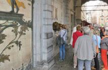 Место исполнения желаний на Гранд-Плас в Брюсселе