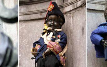 Фонтан Манекен Пис, Брюссель (ФОТО) — «Писающий мальчик»