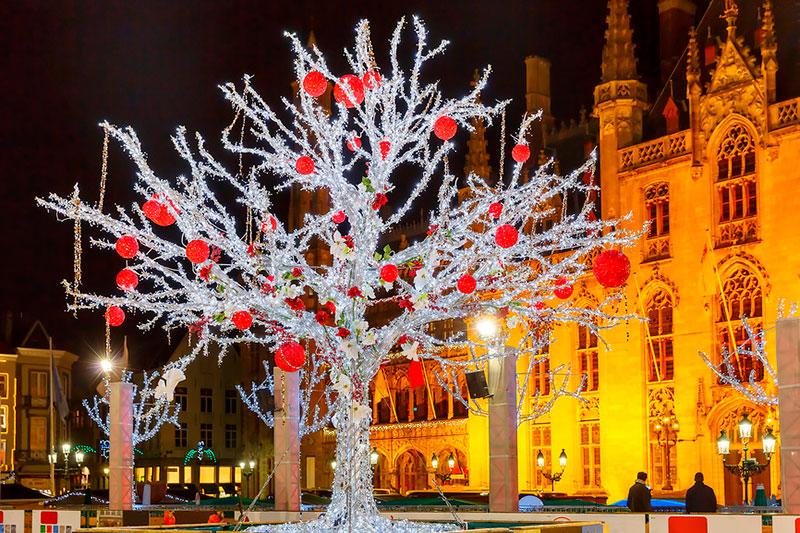 Рождественские ярмарки в Европе: Брюгге, Бельгия